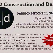 A D Construction And Design Handyman Service Minneapolis Mn Projects Photos Reviews And More Porch