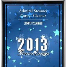 Admiral Steamer Carpet Cleaner