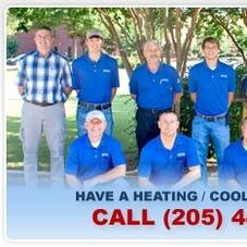 Capital Heating Cooling Hvac Company Hoover Al Projects