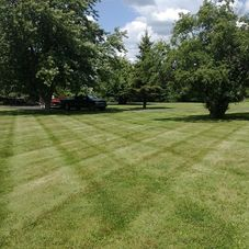 Countryside Lawn And Landscape
