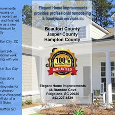 Elegant Home Improvements Llc Remodeling Contractor Ridgeland Sc Projects Photos Reviews And More Porch
