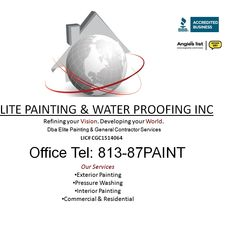Elite Painting And Waterproofing Inc Dba Elite Painting Amp General Contractors Services Inc
