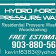 Porch Pro Headshot Hydro Force Pressure Wash