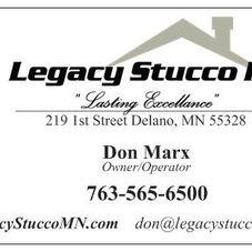 Legacy Stucco LLC Contractor
