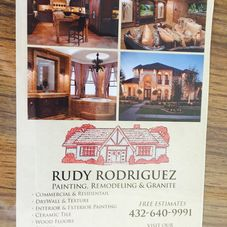 Rudy Rodriguez Painting And Remodeling Remodeling Contractor - Bathroom remodel odessa tx