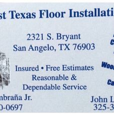 West Texas Floor Installation (Facebook)  Flooring