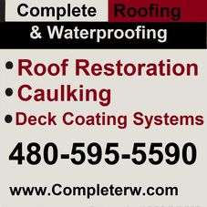 Complete Roofing U0026 Water Proofing, ...