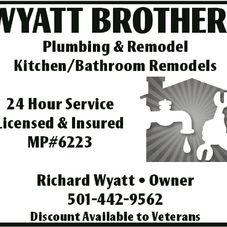 Wyatt Bros Plumbing And Remodel Plumber Paragould Ar