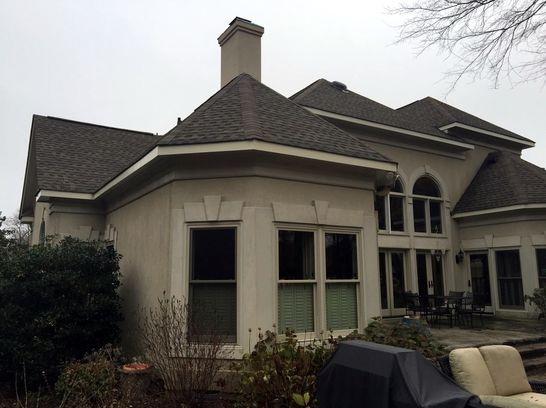 Composite Shingle Roofing Repair