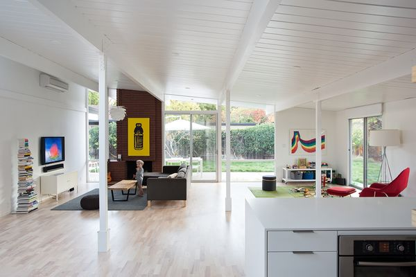 Eichler Great Room Remodel